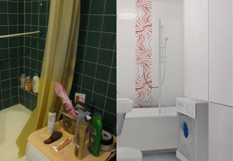 architekt wnętrz Warszawa łazienka przed i po