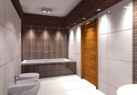 aranżacja łazienki - projektant MKdezere