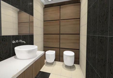 projektant wnętrz z warszawy przedstawia projekt nowoczesnej łazienki