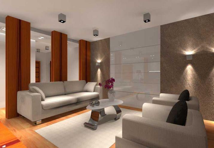 Projekt apartamentu - projektowanie wnętrz Warszawa MKdezere