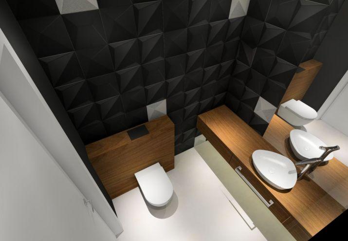 Projekt wnętrz WC