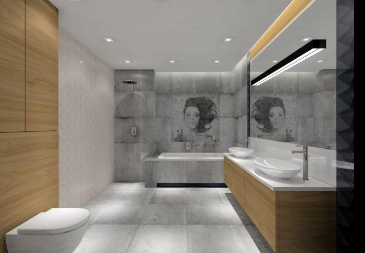 Aranżacja łazienki z sufitem podwieszanym