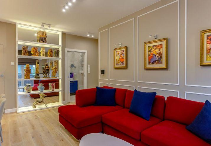 architekt wnętrz warszawa projekt przytulnego salonu