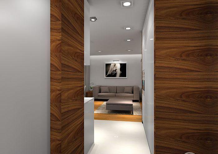 Przytulne mieszkanie z biokominkiem